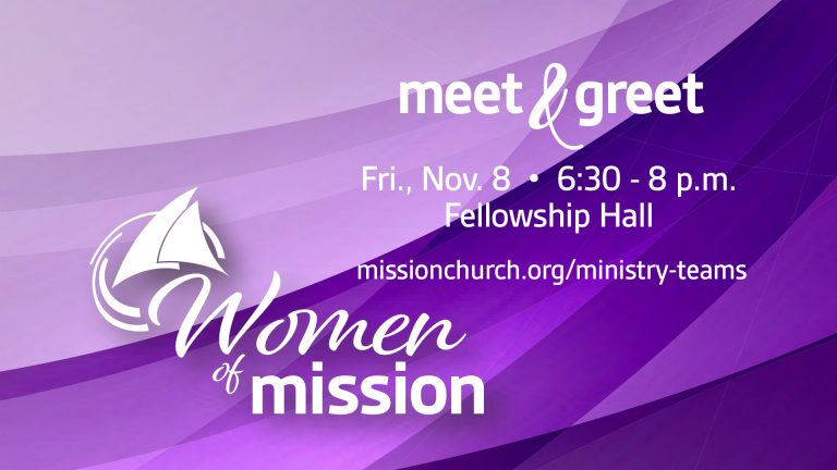 Women of Mission Meet & Greet