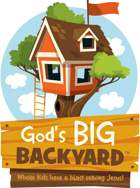 God's Big Back Yard VBS logo